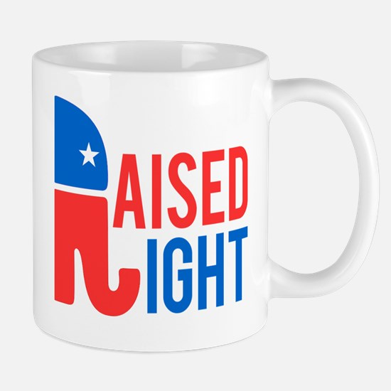 Raised Right Conservative Mug
