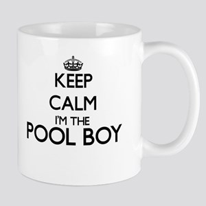 Keep calm I'm the Pool Boy Mugs