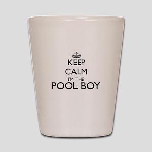 Keep calm I'm the Pool Boy Shot Glass