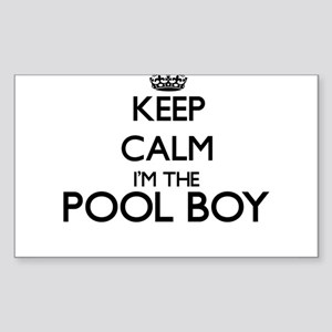 Keep calm I'm the Pool Boy Sticker
