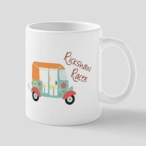 Rickshaw Racer Mugs