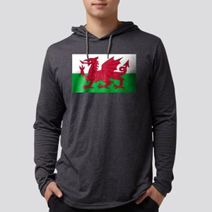 Welsh Flag Long Sleeve T-Shirt