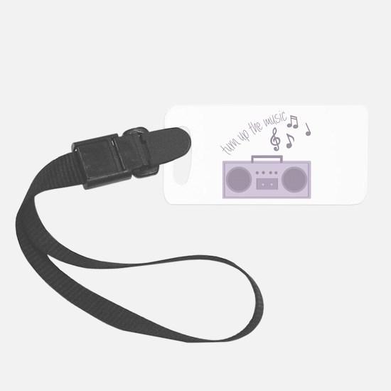 Turn Up Music Luggage Tag
