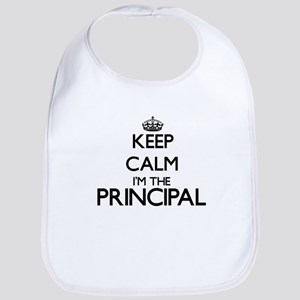 Keep calm I'm the Principal Bib