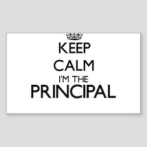 Keep calm I'm the Principal Sticker