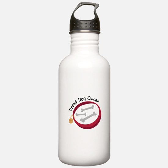 Proud Dog Owner Water Bottle
