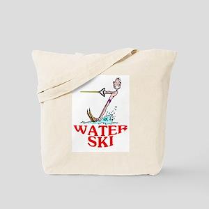 Let's Water Ski! Tote Bag