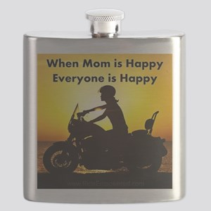 When Mom is Happy... Flask