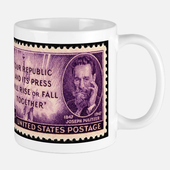 Pulitzer Stamp Mugs