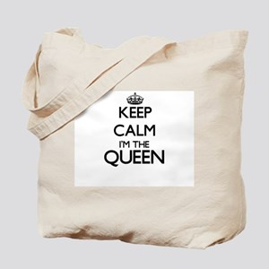 Keep calm I'm the Queen Tote Bag