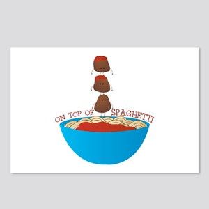 Top Of Spaghetti Postcards (Package of 8)
