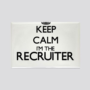 Keep calm I'm the Recruiter Magnets