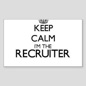 Keep calm I'm the Recruiter Sticker