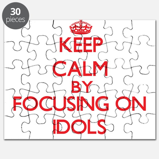 Keep Calm by focusing on Idols Puzzle