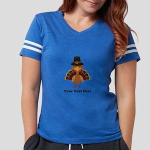 Thanksgiving Turkey Personal Womens Football Shirt