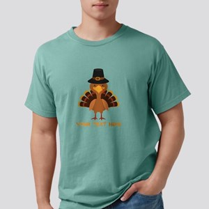 Thanksgiving Turkey Pers Mens Comfort Colors Shirt