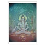 Meditating Shiva Poster Large