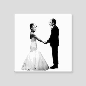 Trump and Putin Marriage Sticker