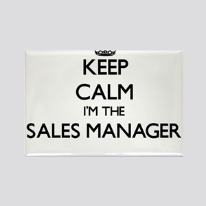 Keep calm I'm the Sales Manager Magnets