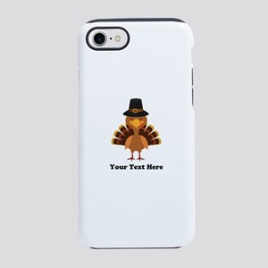 Thanksgiving Turkey Personaliz iPhone 7 Tough Case