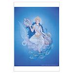 Saraswati Poster Large