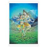 Shiva & Parvati Poster Large