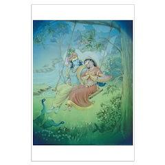 Radha & Krishna Poster Posters