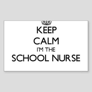 Keep calm I'm the School Nurse Sticker