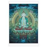 Amithaba Buddha Poster Large