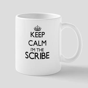 Keep calm I'm the Scribe Mugs