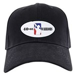 40-oz Logo - Black Cap