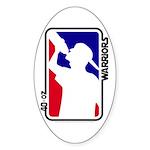 40-oz Logo - Oval Sticker