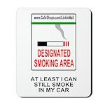 Cigarette Smoking Ban<BR>Tobacco Mouse Pad