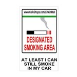 Cigarette Smoking Ban<BR>Tobacco Sticker