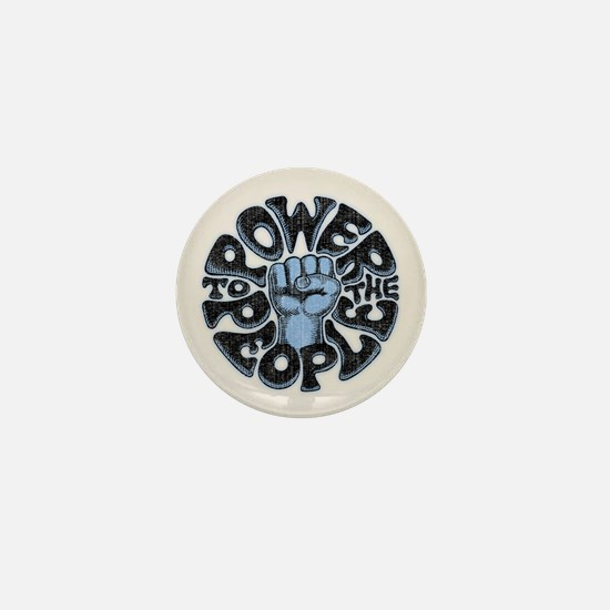 Power to the People 1017 Mini Button