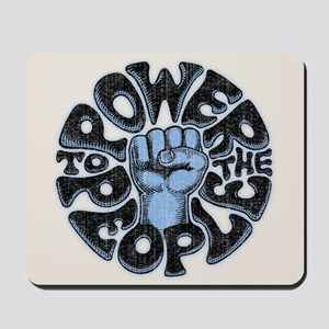 Power to the People 1017 Mousepad