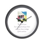 Beach Friends 2 Wall Clock