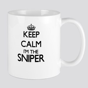 Keep calm I'm the Sniper Mugs
