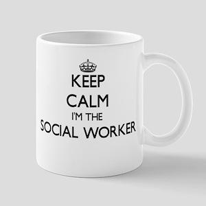 Keep calm I'm the Social Worker Mugs