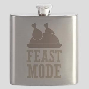 Feast Mode Thanksgiving Flask