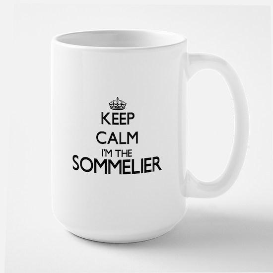 Keep calm I'm the Sommelier Mugs
