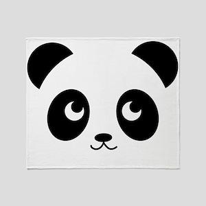 Panda Smile Throw Blanket