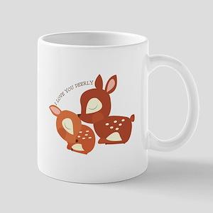 I Love You Deerly Mugs