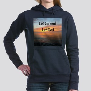 LET GO AND LET GOD Women's Hooded Sweatshirt