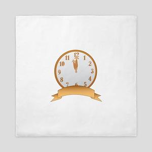 Clock Queen Duvet