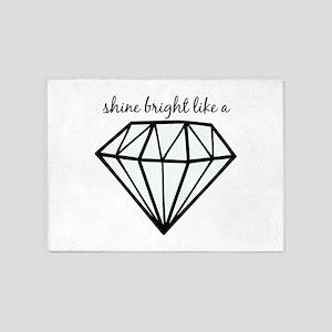Shine Bright Like a 5'x7'Area Rug