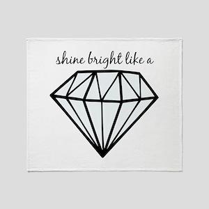 Shine Bright Like a Throw Blanket