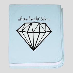 Shine Bright Like a baby blanket