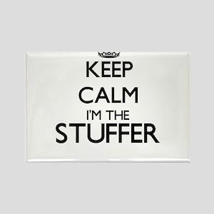 Keep calm I'm the Stuffer Magnets