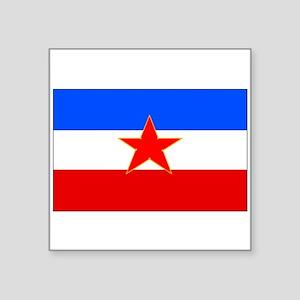 Yugoslavia Flag Sticker